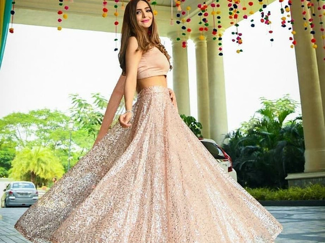 7 Sequin Lehenga Designs for New Age Brides Who Love the Bling