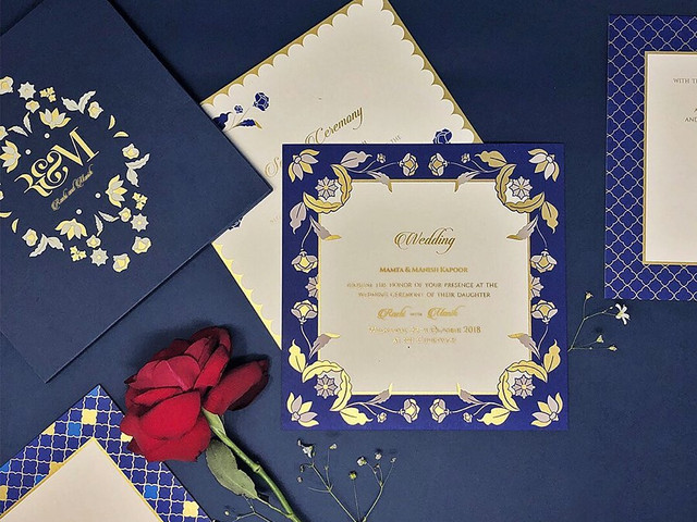 10 Minimal Invitation Ideas for the Couples With a Simple Taste