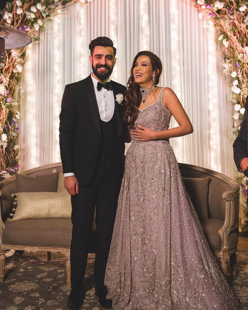 20 Most Stylish Indo,Western Engagement Dresses To Inspire