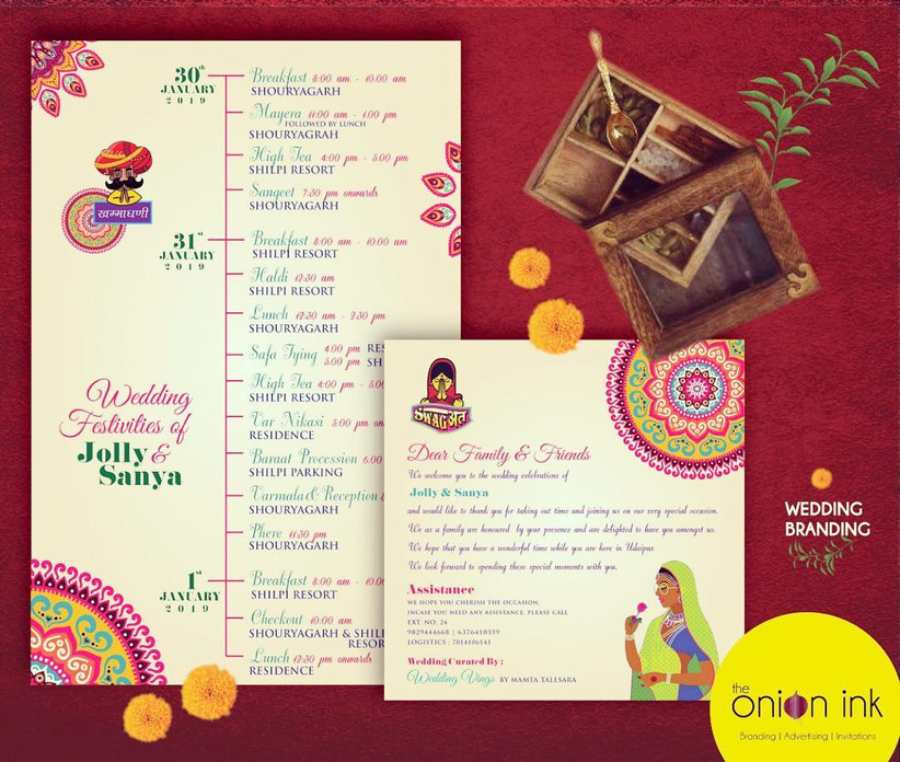 An Exclusive Vendor List Of Indian Wedding Cards Design With