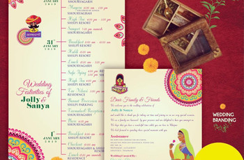 An Exclusive Vendor List of Indian Wedding Cards Design With Price to Nail Your Wedding Invite