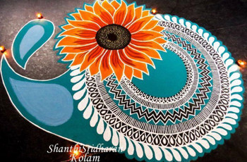9 Indian Rangoli Designs Photos to Help You Spruce the Venue Up