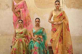 Latest Saree Images To Inspire Your Bridal Look
