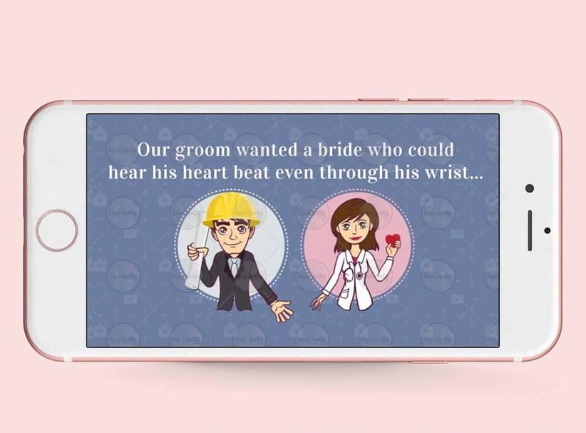 WhatsApp Wedding Invitation Message by Happy Invites