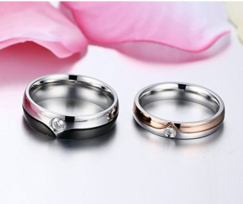 10 Exquisite Diamond Couple Rings That Will Show Off Your ...
