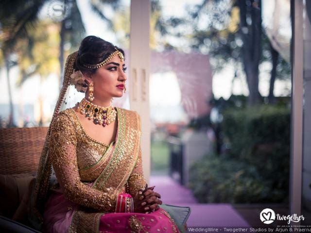 Golden Lehenga Blouse Designs Which Make Your Bridal Attire Shine