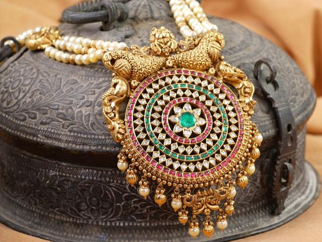 8 Maharani Haar Designs to Give You The Royal, Bridal Look