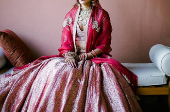 Modern Day Raw Silk Lehengas by Indian Designers With Price Range