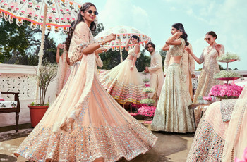 6 Jaw-droppingly Beautiful Lehenga Collection for Bridesmaids