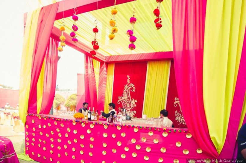 Simple Indian Wedding Decoration Ideas Minimalistic Gleaming And