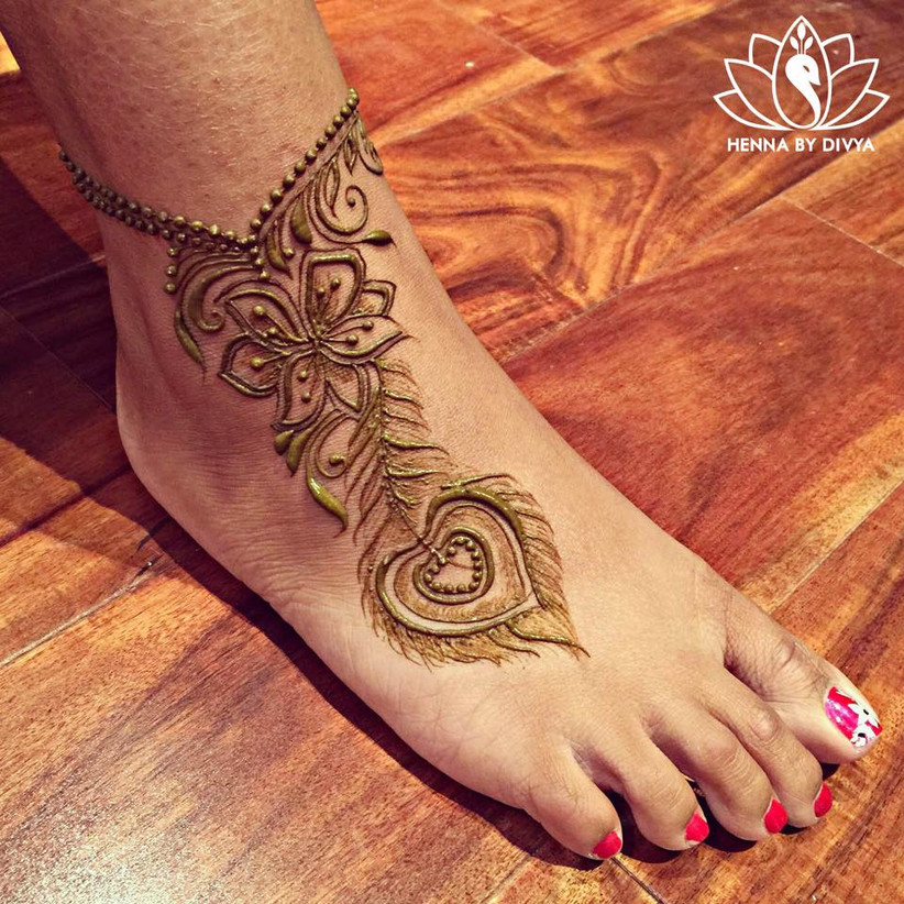 19 Beautiful Feather Henna Designs You Will Love To Try: 8 Styles Of Jewellery Mehndi Designs That Can Give You A