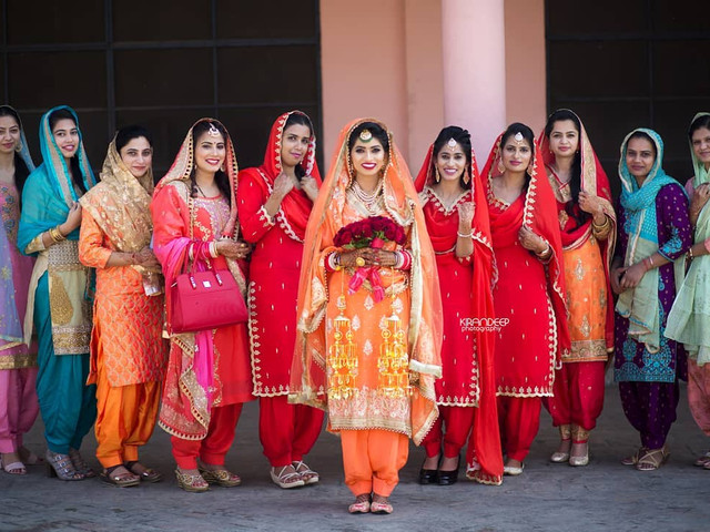 6 Punjabi Suit Photos That Show Exactly What To Wear For Your Chura And Mehndi Ceremony