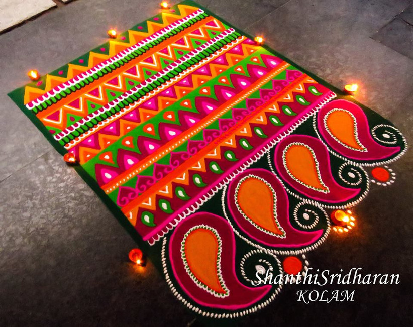 101 Rangoli Designs To Make Sure Your Wedding Is The