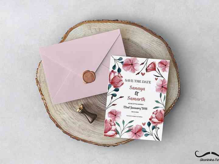 10 Floral Invitation Card Design Ideas For Your Big Day