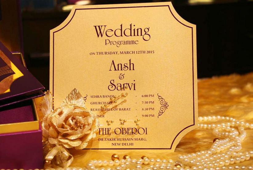 Voguish Wedding Invitations