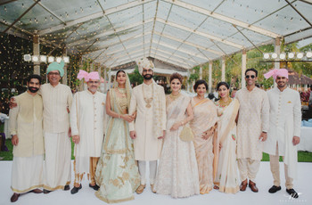 Most Elegant Ideas to Use Cream Colour Combination at Weddings