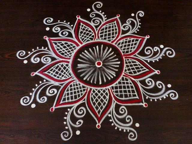 Kolam Designs: Simple Kolam Handpicked Rangoli for Tamil Weddings