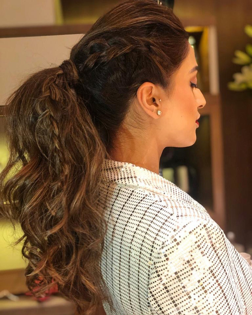 10 Puff Ponytail Hairstyles to Bring Out the Diva in You