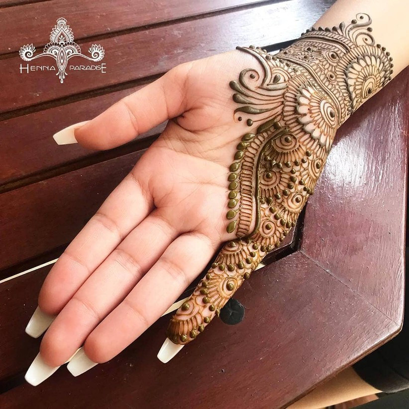 80 Gorgeous Arabic Mehndi Designs For Your Wedding Ceremony