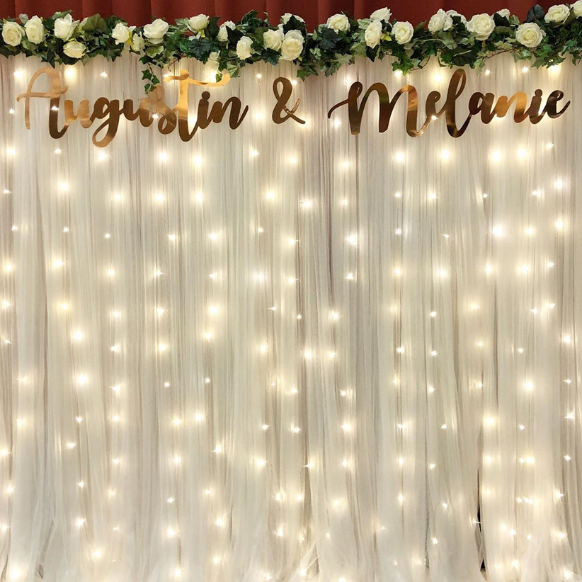 Magical Wedding Backdrop Ideas: 6 Wedding Stage Decoration Tips To Nail That Perfect