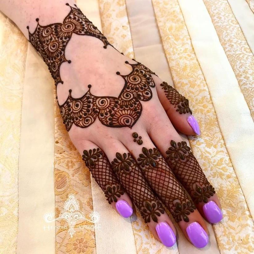 henna motive
