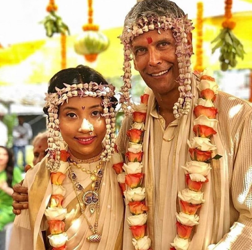 Milind Soman Wedding: Why They Wore Ivory And Gold For An