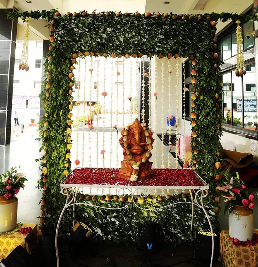 Wedding At Home Ideas: 12 Ganesh Decoration Ideas For A Pre-Wedding Ritual To