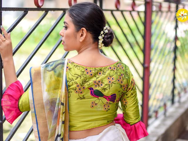Cotton Saree Blouse Designs- Find Trendy Cotton Saree Blouse Designs, Cotton Saree Blouse Designs 2020 @weddingwire