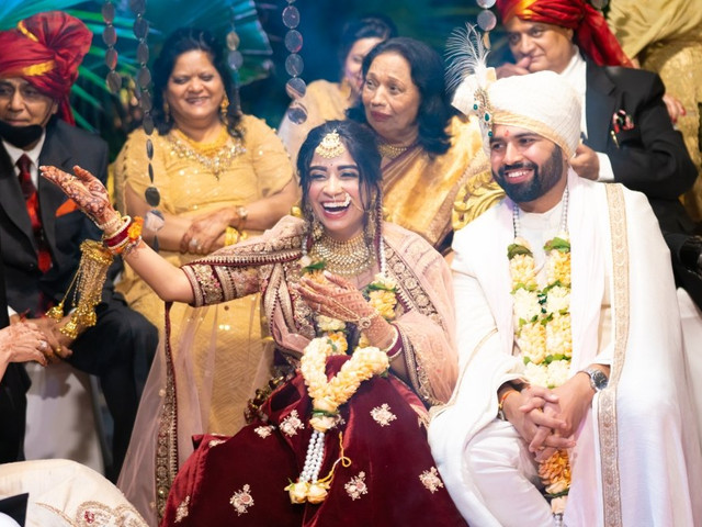 The Intimate Wedding Where Sidharth Proposed Astha in a Theatre