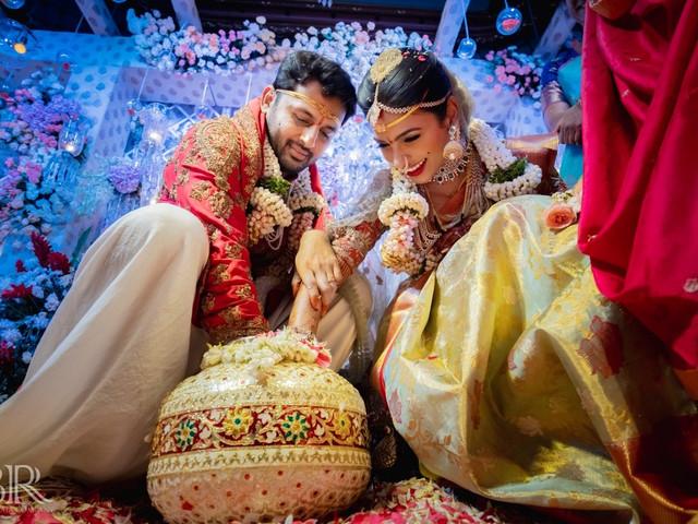 Inside Telugu Actor Nithiin & Shalini's Breathtaking Lockdown Wedding