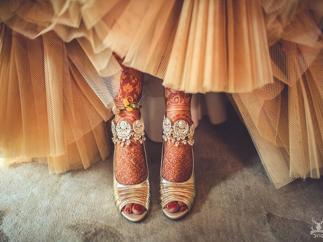 10 Latest Foot Jewellery Designs to Go With Your Wedding Trousseau!