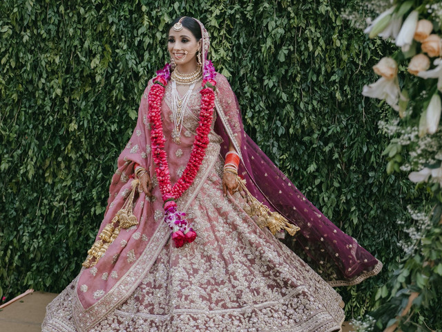 Interesting Ombre Lehenga Designs for Brides Who Defy Being Ordinary