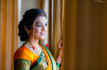 Want The Marathi Bridal Makeup Look? Here's How To Achieve That