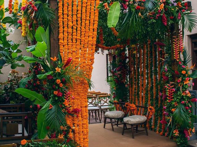 Breathtaking Marigold Flower Decoration Images for Wedding