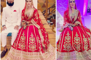 Sana Khan ties the knot with Mufti Anas in an Intimate Wedding Ceremony