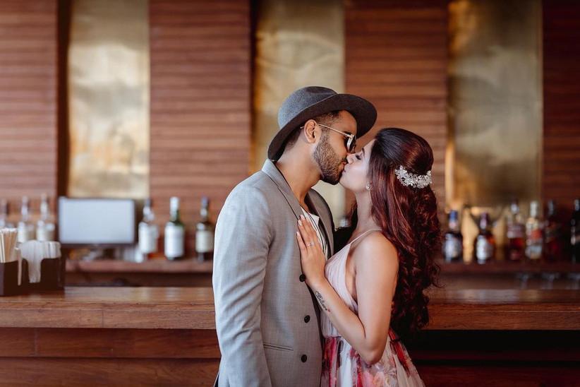 Malvika Sitlani proposal image with boyfriend