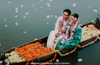 The Story of 2 Doctors Who Planned Their Lake-view Wedding in a Week