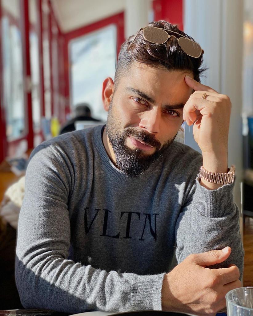 stylish beard style for men - Virat Kohli