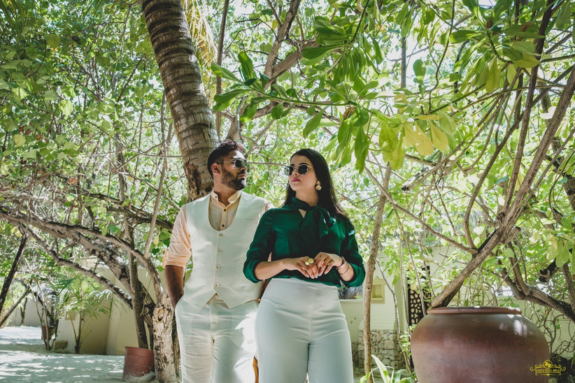 pre-wedding photography in maldives