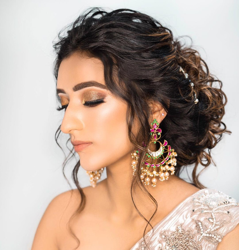 12 Queenly Indian Bun Hairstyles For Long Hair