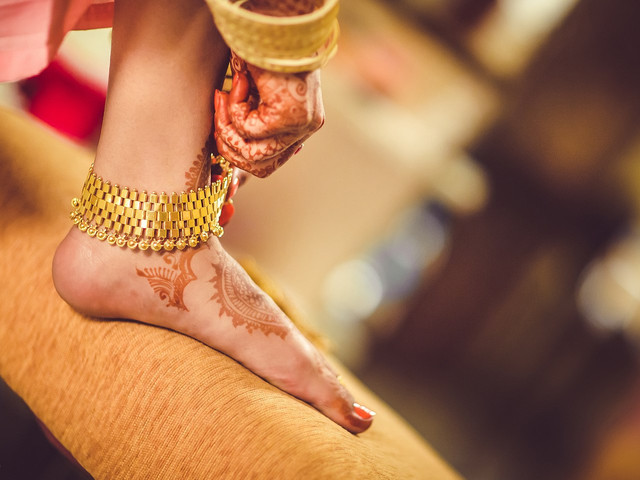 5 Ladies Payal Designs To Get Awesome Foot Pictures For Your Wedding