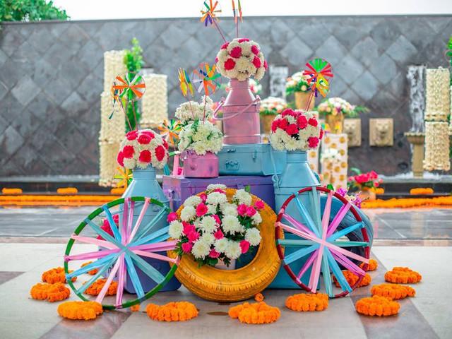 10 Flower Art Ideas That Work Splendidly Well for Your Shaadi Ka Ghar's décor