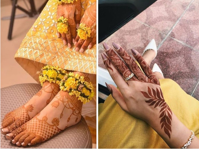 Short Mehndi Design Ideas That Will Make You the Star of the Show!