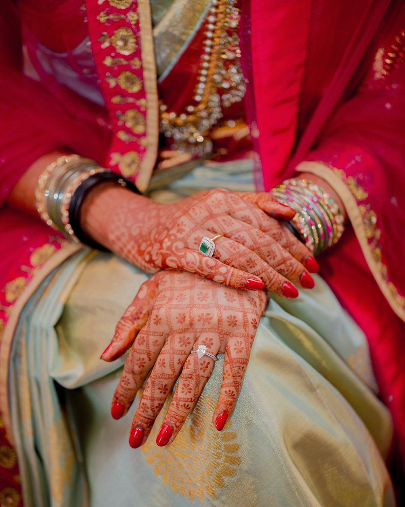 6 Simple Bridal Mehndi Designs For The Brides And Her ...