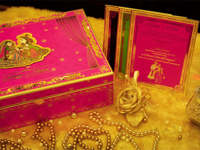 7 Breathtaking Indian Wedding Invitation Card Format That Are Sure To Be A Hit