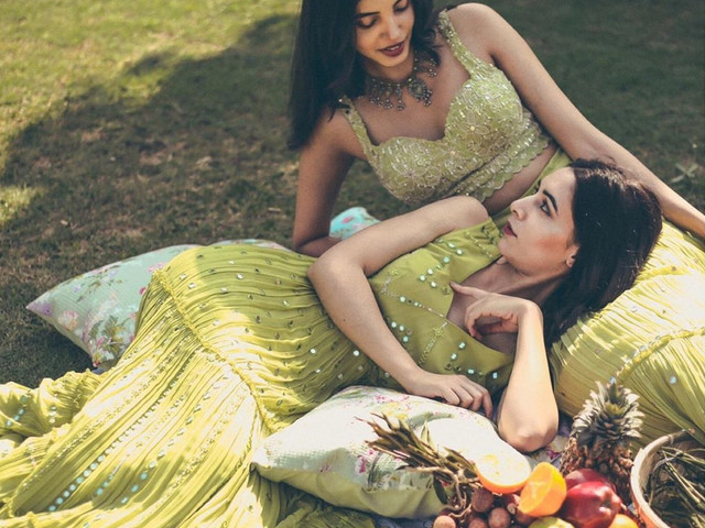 Check Out These Latest Green Lehenga Designs for Your Wedding!