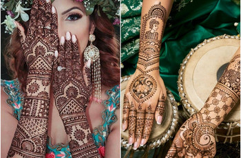 Mehndi Design: 100+ Traditional Bride & Bridesmaids' Mehndi Designs