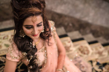 8 Hairstyle On Saree For Engagement Ideas That Can Help You Ace Your