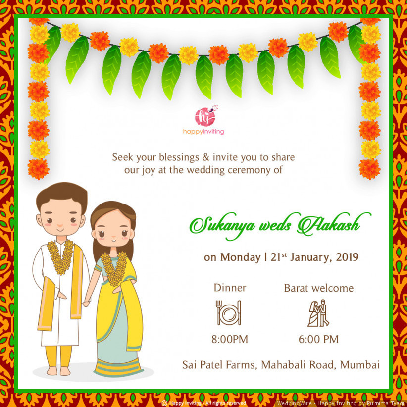 Looking For Some Indian Wedding Invitation Cards Here S The