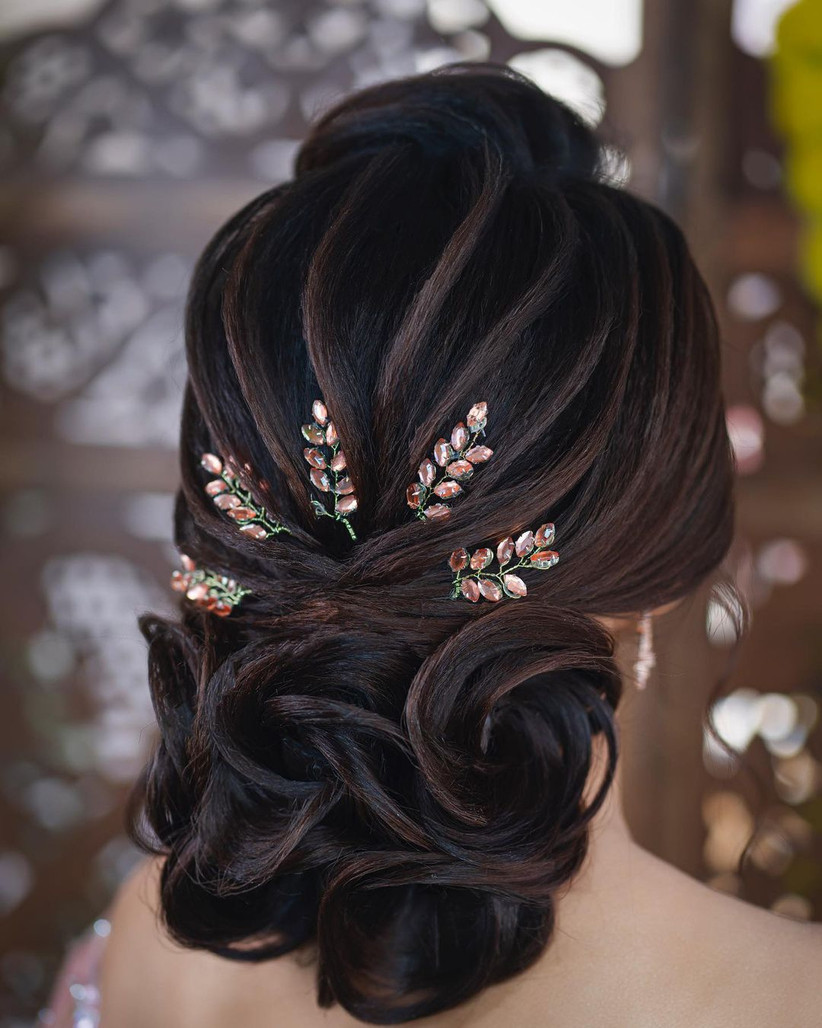 bun hairstyle for girls